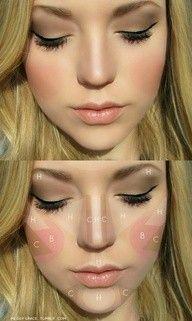Contouring Disney Vibes Makeup Tips And Highlighting