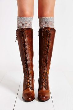 eed771ff82b6 Frye Parker Lace-Up Tall Boot - Urban Outfitters Frye Melissa Boots