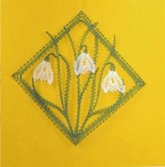 Het resultaat Lace Making, Flower Making, Bobbin Lacemaking, Bobbin Lace Patterns, Lace Heart, Point Lace, Lace Jewelry, Needle Lace, Lace Flowers