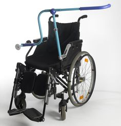 side by side handle extension for wheelchairs by tammy kalinsky