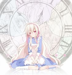 And, so her friends wouldn't die, Mary reset the timeline. Again, and again, and again. Each time she reset the timeline, her heart broke a little more, until it was the reflection of a shattered clock.