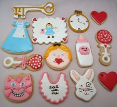 Alice in Wonderland, presented by Debbie of Mt. Lookout Sweets - for the collection by flour box bakery