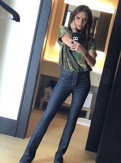 Victoria Beckham Outfits, Victoria Beckham Style, Victoria Style, Ny Style, Style Icons, Victoria Fashion, Celebrity Style Inspiration, Street Style Summer, Spice Girls