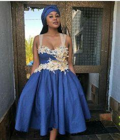 African Attire, African Fashion Dresses, African Dress, African Design, African Style, Seshweshwe Dresses, South African Traditional Dresses, Traditional Wedding, Beautiful Ladies