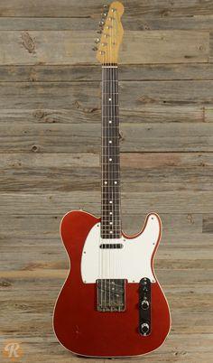 Fender Telecaster Custom '62 Reissue MIJ 1985 Candy Apple Red   Reverb