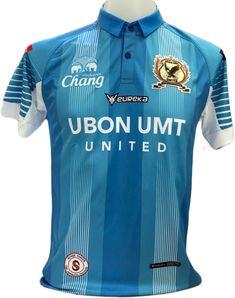 100% Authentic 2018 Ubon UMT Thailand Football Soccer League Jersey Shirt Blue #Euraka #UbonUMTFC