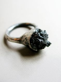 Black Stone Ring | NOT JUST A LABEL