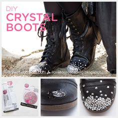Repair a scrape on faux leather shoes pinterest jar leather and diy crystal boots by trinkets in bloom solutioingenieria Choice Image