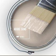 Adobe sand behr paint color