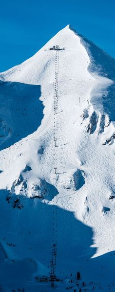 #Obertauern, Blick auf Skipiste und Sessellift Gamsleiten 2 in Obertauern Infos zum gelungenen Skiurlaub via https://diegutelaune.com