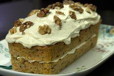 Κάροτ κέικ με φρόστινγκ τυριού κρέμας Cupcake Cakes, Cupcakes, Pound Cake, Carrot Cake, Sweet Recipes, Frosting, Carrots, Muffins, Food And Drink