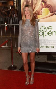 Jennifer Aniston- I hope when I'm her age I look half as good as she does!