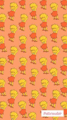 Liza Simpson Wallpaper Iphone, Tumblr Iphone Wallpaper, Trippy Wallpaper, Computer Wallpaper, Cartoon Wallpaper, Disney Wallpaper, Cool Wallpaper, Cute Wallpaper Backgrounds, Flower Wallpaper