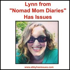 """Another blogger shares her issues! Today it's Lynn from """"Nomad Mom Diaries""""  @nomadmomdiary"""
