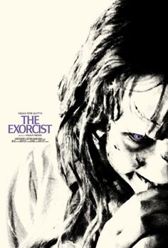 "Dr. Giallo on Twitter: ""THE EXORCIST (1973) by William Friedkin #horror Linda Blair, Ellen Burstyn, Max von Sydow #horror #poster… """