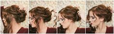 The Freckled Fox: Holiday Hair Week: The Fancy Bun