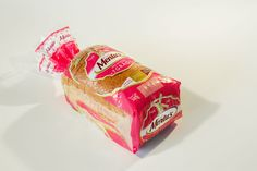 design de embalagem para pão.