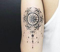 Jewelry Mandala tattoo by Kristie Yuka