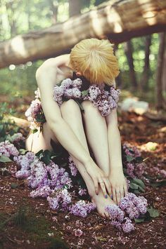 one with the earth, she sleeps by Savannah Daras, via Flickr