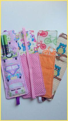 Sewing hacks ideas fabrics 19 ideas for 2019 Small Sewing Projects, Sewing Projects For Beginners, Sewing Hacks, Sewing Tutorials, Sewing Crafts, Sewing Patterns, Creative Bookmarks, Diy Bookmarks, Ribbon Bookmarks