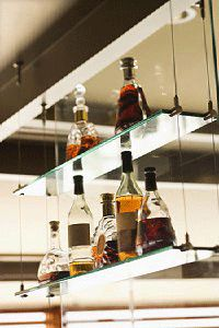 Suspended Shelves diy-able suspended shelving? | diy design, shelving and ceiling