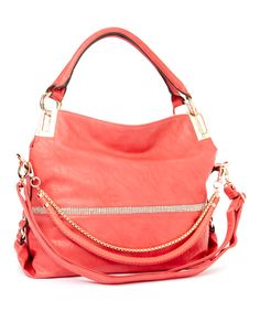 MKF Collection Coral Twister Shoulder Bag | zulily