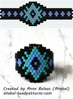 easy ring ~ Seed Bead Tutorials
