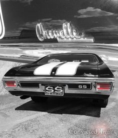 60 Best Ideas For Vintage Cars Muscle Chevelle Ss 1970 Chevelle Ss 454, Chevy Chevelle Ss, Classic Chevy Trucks, Classic Cars, Chevy Muscle Cars, Mustang Cars, Us Cars, Vintage Trucks, American Muscle Cars