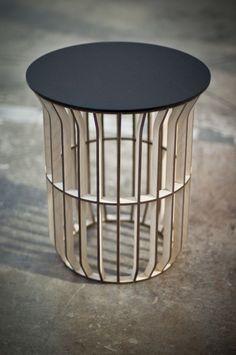 LATH Table by Jonathan Dorthe, via Behance