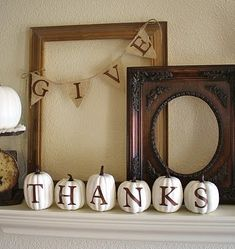 Thanksgiving is coming! Thanksgiving is coming! Are you ready to ring in the holidays? Tell us your favorite holiday decoration below. Thanksgiving Mantle, Thanksgiving Crafts, Thanksgiving Decorations, Fall Crafts, Holiday Decorations, Seasonal Decor, Holiday Crafts, Friends Thanksgiving, Harvest Decorations