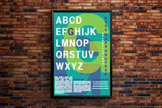 Font Poster on Behance