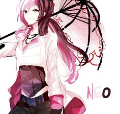 RWBY Neo Cutest character ever!!^_^