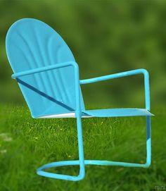 Mini Blue Chair