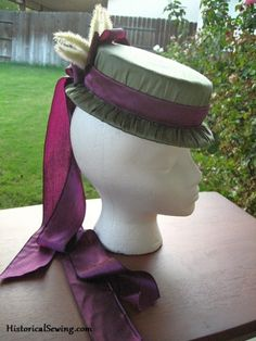 The Hat Non-Tutorial — C Costuming Sewing Instructions Historical Costume Sewing Pattern Help Period Clothing Steampunk Outfits, Steampunk Hat, Steampunk Costume, Steampunk Fashion, Gothic Fashion, Victorian Hats, Victorian Costume, Victorian Steampunk, Victorian Fashion