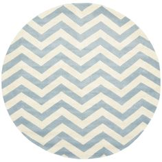 Blue chevron rug. Ordered it, LOVE it! :) overstock.com. $269.99