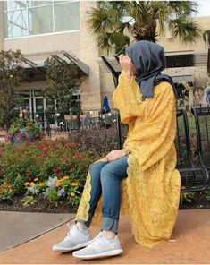 #hijab #outfits #hijabstyle #fashion #hijabfashion  Pinterest: @GehadGee Hijab Fashion Summer, Street Hijab Fashion, Abaya Fashion, Muslim Fashion, Iranian Women Fashion, Hijab Collection, Hijabi Girl, Hijab Fashion Inspiration, Modest Wear