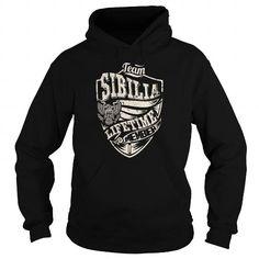 Cool Last Name, Surname Tshirts - Team SIBILIA Lifetime Member Eagle T-Shirts