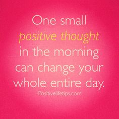 Positive day
