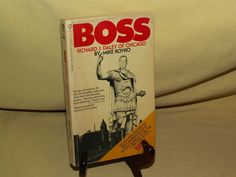Boss Richard J Daley Of Chicago by Mike Royko Signet PB Y4767 10th Print 1971