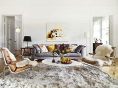 Martin and Thérèse Cederblad's home: the perfect living room