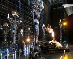photo shoot for Phantom of the Opera Las Vegas. I've been on and under that stage :D eeeeeee