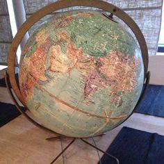 #Vintage Replogle Globe #1940 By