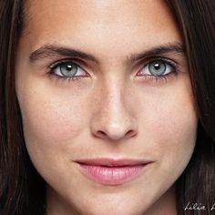 Lilia Luciano..has my colour eyes. Finally a deep autumn who looks like me!!!
