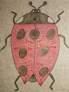 Zentangle Käfer