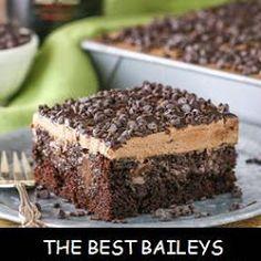 Recipes Dewi --> BAILEYS CHOCOLATE POKE CAKE - Side Dishes