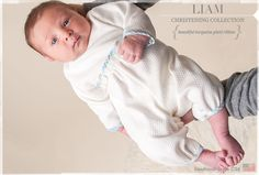 The Liam Baby Boy Christening Clothing & Newborn Outfits Collection