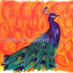 pastel peacock - Google Search