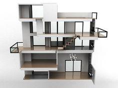 Organized Design: Modern Doll House