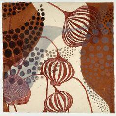 Sandra Cardillio, MA, USA |  woodcut and monoprint