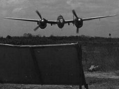 P-38 on a low level gunnery pass in Panama · Ww2 AircraftMilitary ...